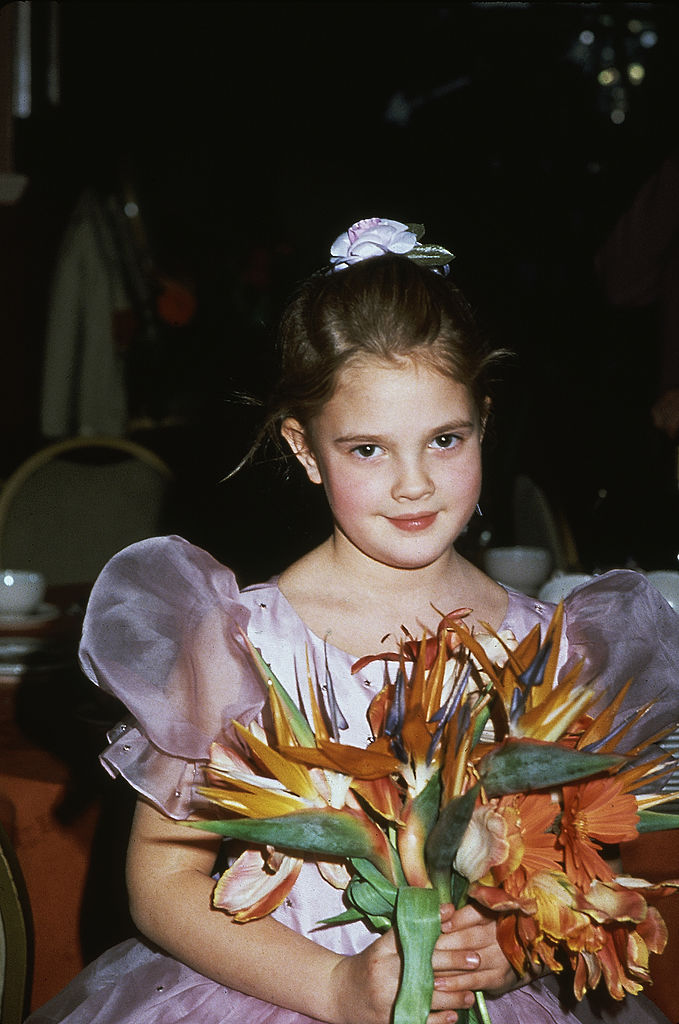 Drew Barrymore At The Golden Globes