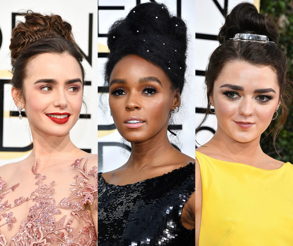 Here are 14 hairstyles from the Golden Globes that will give you all the inspiration you need to change up your look
