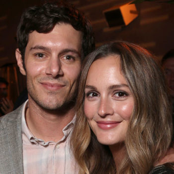 Leighton Meester & Adam Brody made a rare appearance together at a Golden Globes party and looked perfect together as usual