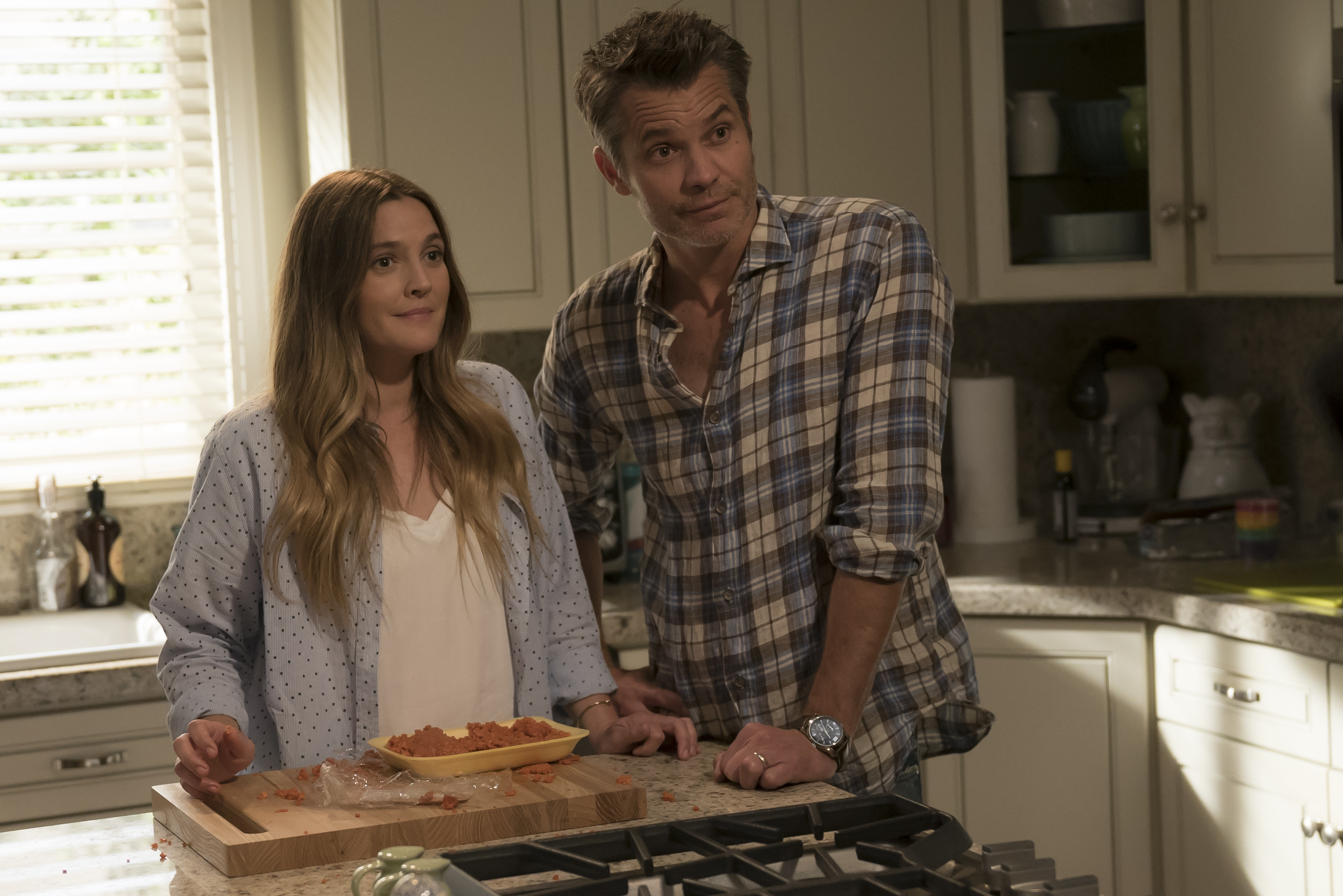 "The second teaser for ""The Santa Clarita Diet"" is here, and say hello to Zombie Drew Barrymore's husband!"