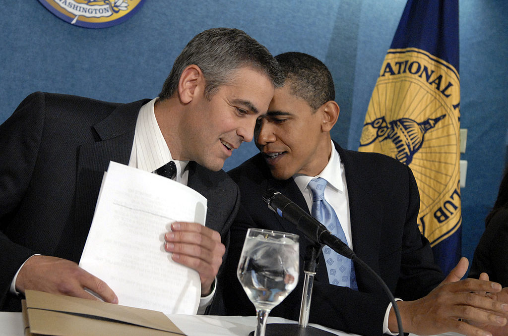 George Clooney shared his most touching memory of President Obama, and where are the tissues?