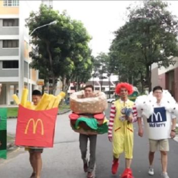These groomsmen dressed as McDonald's menu items, and their fast food-themed outfits were hilarious