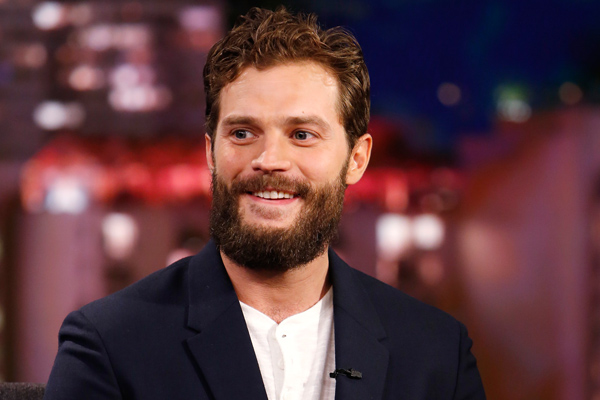 "Jamie Dornan describes his relationship with his wife and he couldn't be farther from his ""Fifty Shades"" character"