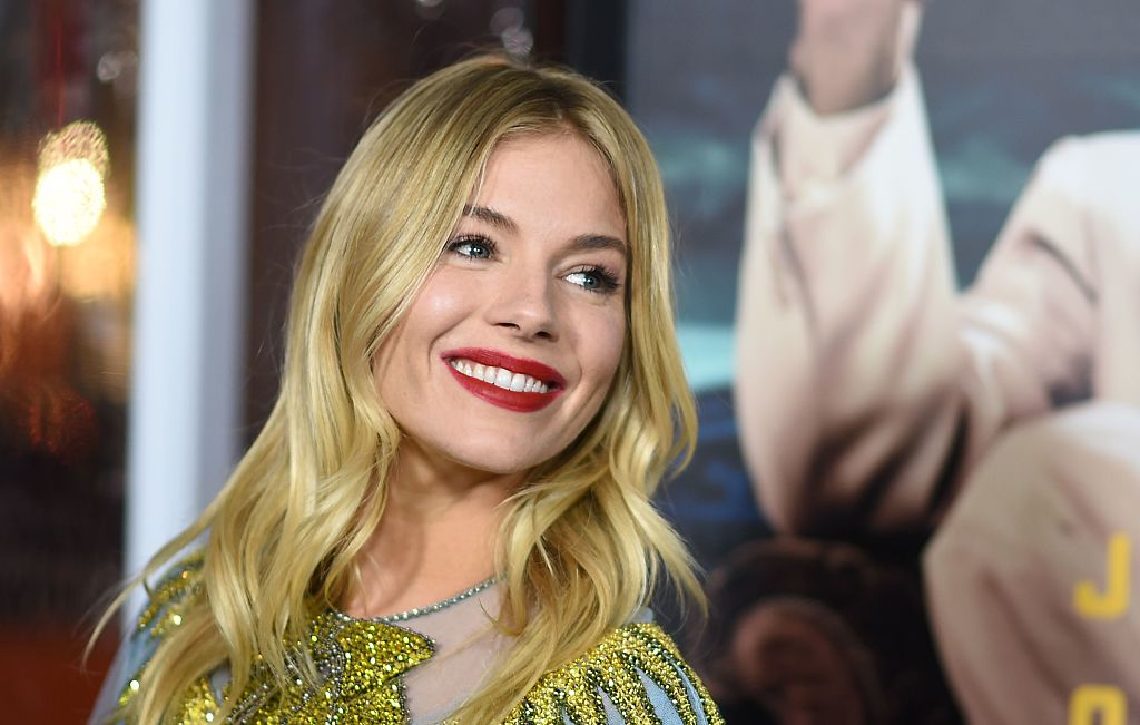 Sienna Miller looks like a fancy lampshade in this gorgeous Gucci number