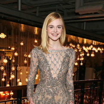 Elle Fanning just wore the most simple cream dress, yet still looked like a minimalistic rockstar