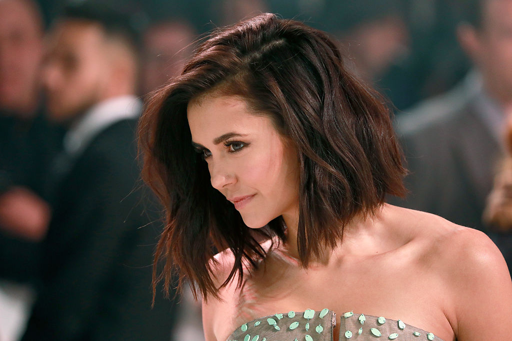 We just learned a secret about Nina Dobrev's new lob, and we're definitely gonna try this