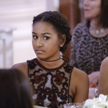 Sasha Obama wasn't at her dad's farewell address — but where she was was even more inspiring