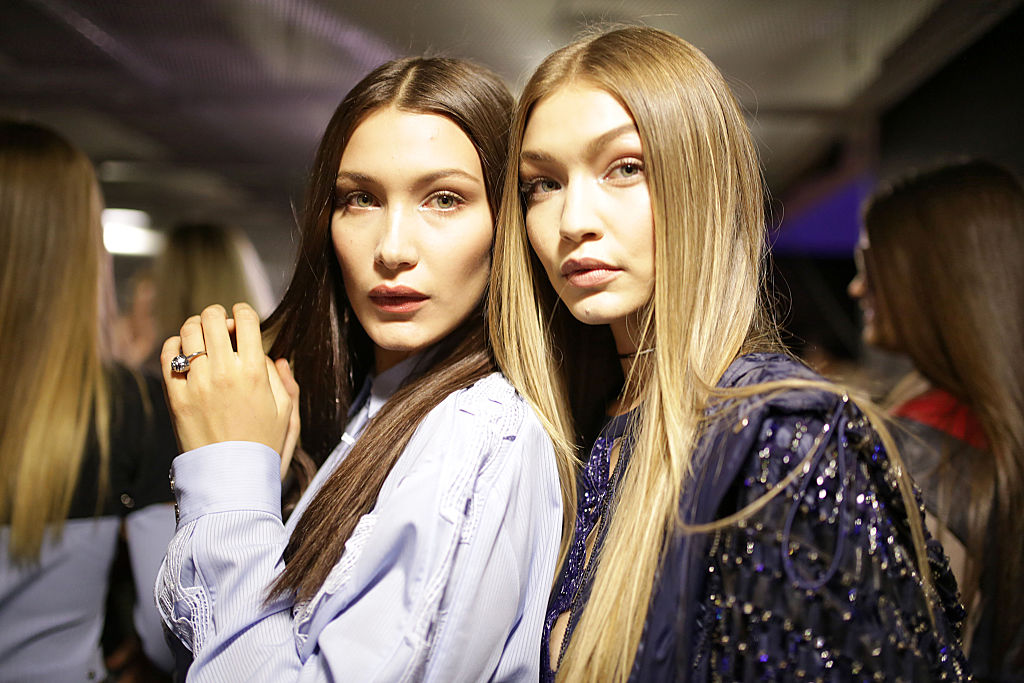 Gigi Hadid just shared what she and Bella look like combined, and it's the definition of #twinning