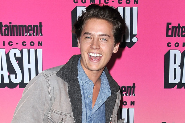 "Cole Sprouse still gets recognized for ""Suite Life"" even though we think he looks completely different"