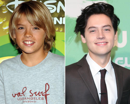 Amanda Bynes, Dylan and Cole Sprouse and 8 More Stars Who ... |Cole And Dylan Sprouse Then And Now