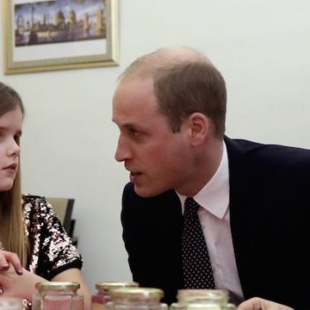 Prince William said the sweetest thing to a little girl who has also lost a parent, and we're actually crying
