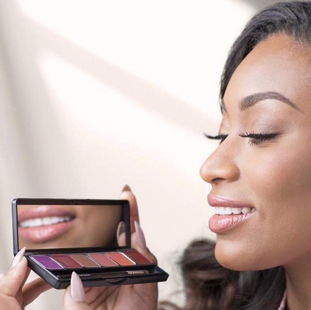 E.l.f. Cosmetics and beauty vlogger Iris Beilin are coming out with a lip palette that is perfect for when you're on-the-go