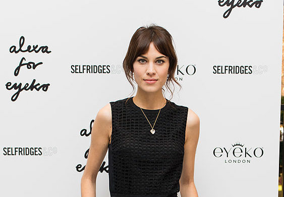 Alexa Chung Launches New Make Up Collection - Photocall