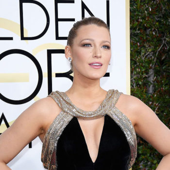 Blake Lively thanked all the women who made her Golden Globes dress by hand — we want more of this