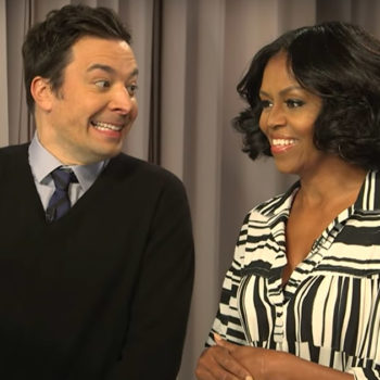 Jimmy Fallon and Michelle Obama surprised a bunch of people saying goodbye to the First Lady and it's so sweet
