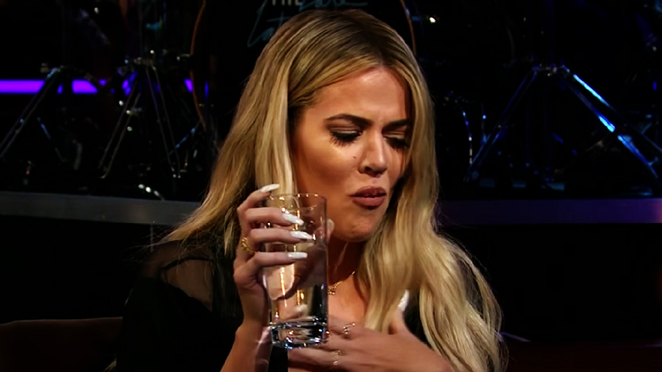 Khloé Kardashian risked eating chicken feet and old eggs with James Corden, and it's thrilling to watch