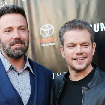 Matt Damon and Ben Affleck still find time to hang, because sometimes the world makes sense