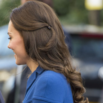 Kate Middleton loves a plastic claw hair clip, and that's just another reason we adore her