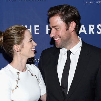 Emily Blunt and John Krasinski look like they were destined for each other on date night