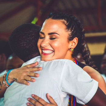 Demi Lovato is giving back to local communities in Kenya and it's amazing
