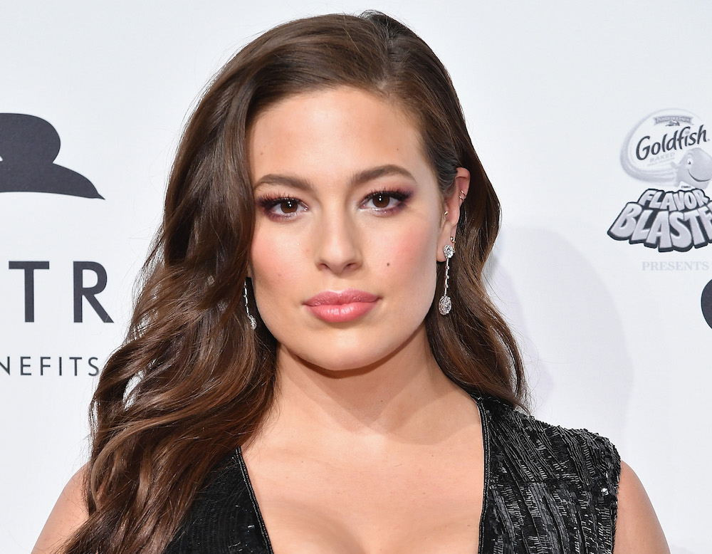 "Ashley Graham looks like superhero goth queen in her shoot for ""V Magazine"""