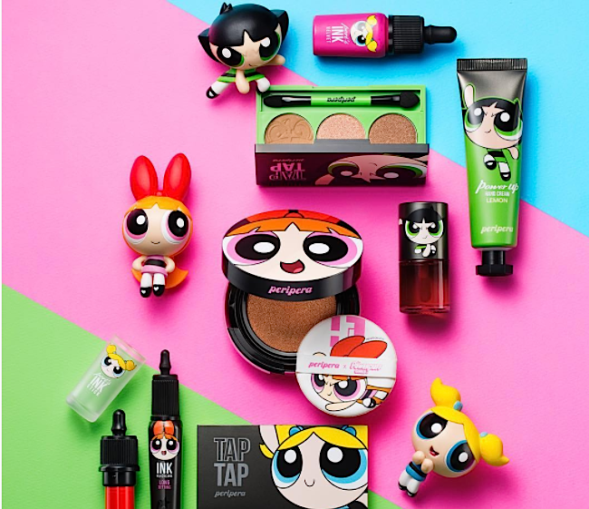 """There's a """"Powerpuff Girls"""" makeup collection with Peripera, and we want it all"""