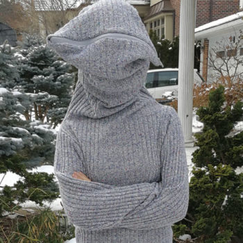 """This """"leave me alone"""" sweater is a must for antisocial people — here's how to make it"""