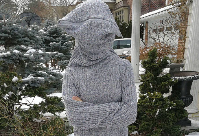 "This ""leave me alone"" sweater is a must for antisocial people — here's how to make it"