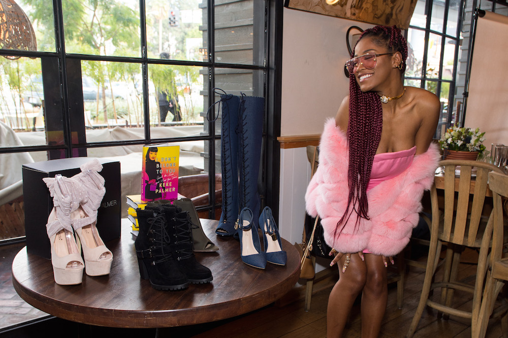 Keke Palmer's newest collection with ShoeDazzle will have you ready for your next girls night out