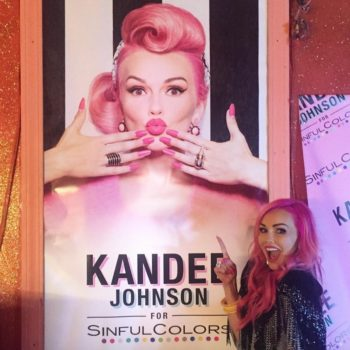 Kandee Johnson and Sinful Colors threw the cutest candy-colored party to celebrate their new collab