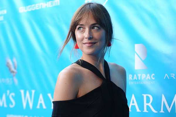 "Dakota Johnson says she had a very European approach to filming ""Fifty Shades"" and we love her body positive views on nudity"