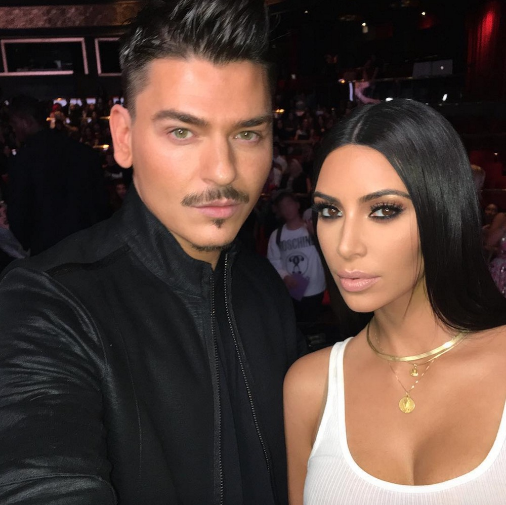 Beauty icons Kim Kardashian and makeup artist Mario Dedivanovic reunited for his Master Class in Dubai