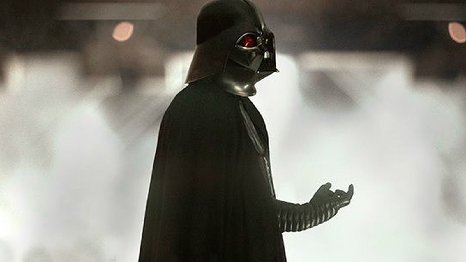"Oh wow, one of the ""Rogue One"" reshoots was *that* Darth Vader scene"