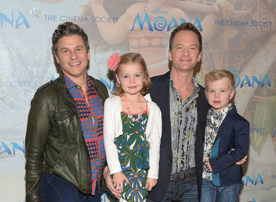 "Neil Patrick Harris' twins are big fans of ""A Series of Unfortunate Events"""