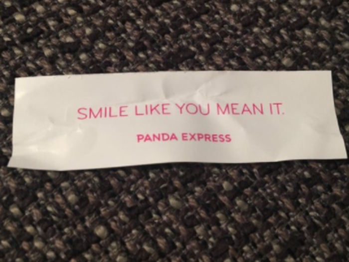The Killers and Panda Express have ended their feud in the sweetest way possible