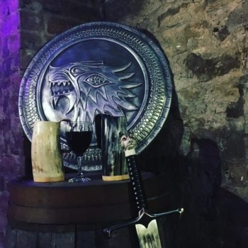 """There's a """"Game of Thrones"""" pop-up bar, and we're hopping on a dragon right now to get there"""
