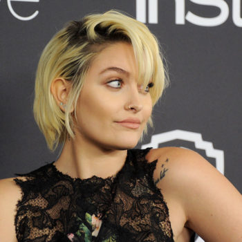 Paris Jackson looks a lot like Madonna here, and we're digging this makeover