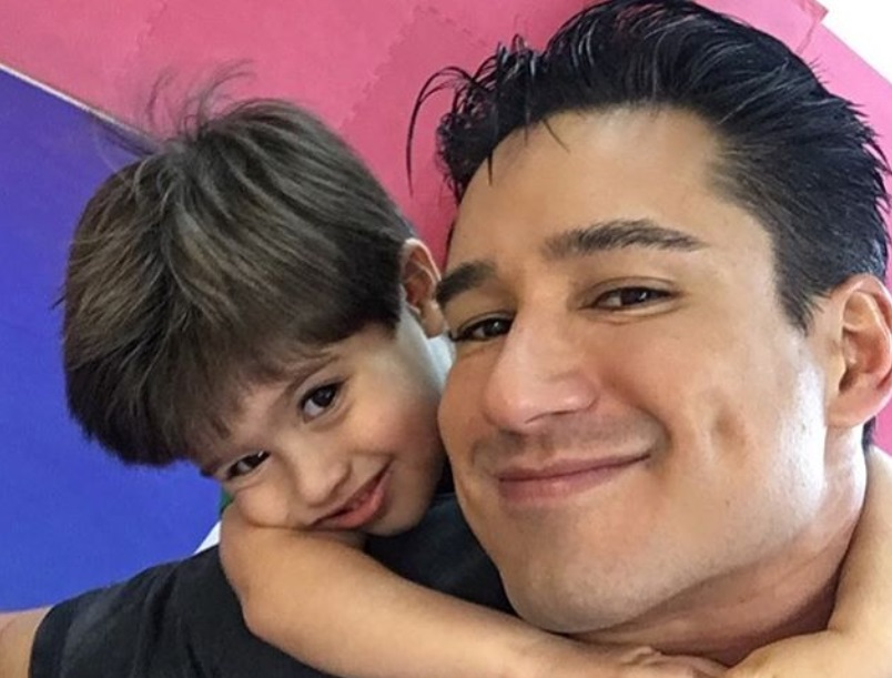 A storm completely wiped out Mario Lopez's yard, and the photos are terrifying