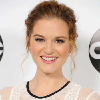 "'Grey's Anatomy' star Sarah Drew says at times her ""heart breaks"" as a working mom"