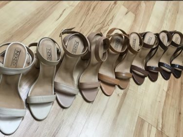 This shoe brand makes nude heels for women of every skin color and it's *so* needed