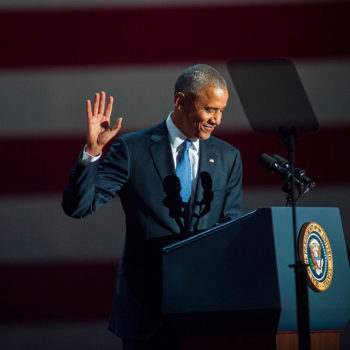 President Obama's final weekly address is filled with gratitude, and so are we