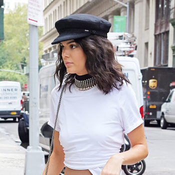 We hope you saved your newsboy cap from 2003, because the trend is back in a major way