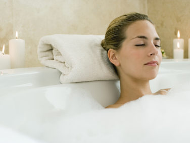 Japanese spas have you bathe in sake to brighten your skin, and you can try it out at home