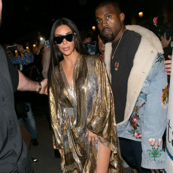 Kim Kardashian and Kanye West are rocking a major '80s fashion trend