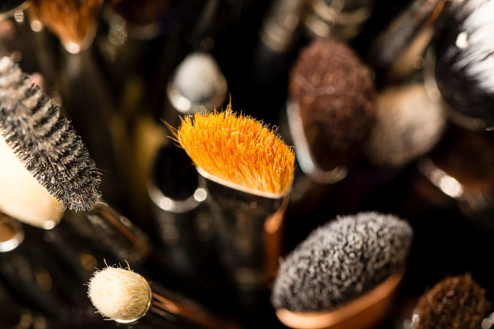 These zoomed-in photos of makeup brushes will inspire you to finally clean yours