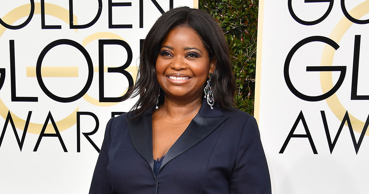 "Octavia Spencer bought out a screening of ""Hidden Figures"" for low-income families, because she inspires on and off screen"