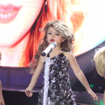 You need to watch this seven-year-old girl flawlessly impersonating Taylor Swift