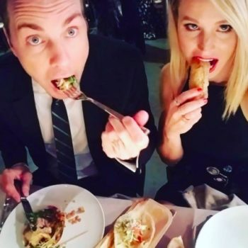 Dax Shepard posted the most adorable, pre-marriage throwback pic of himself with Kristen Bell