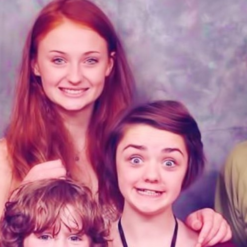 Maisie Williams Asked Twitter To Send Her Throwback Pics