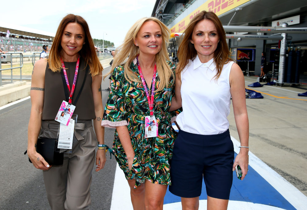 Two Spice Girls reunited over the weekend for the sweetest, most perfect reason